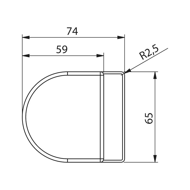 Standflügel-Set Form A kurz - 1