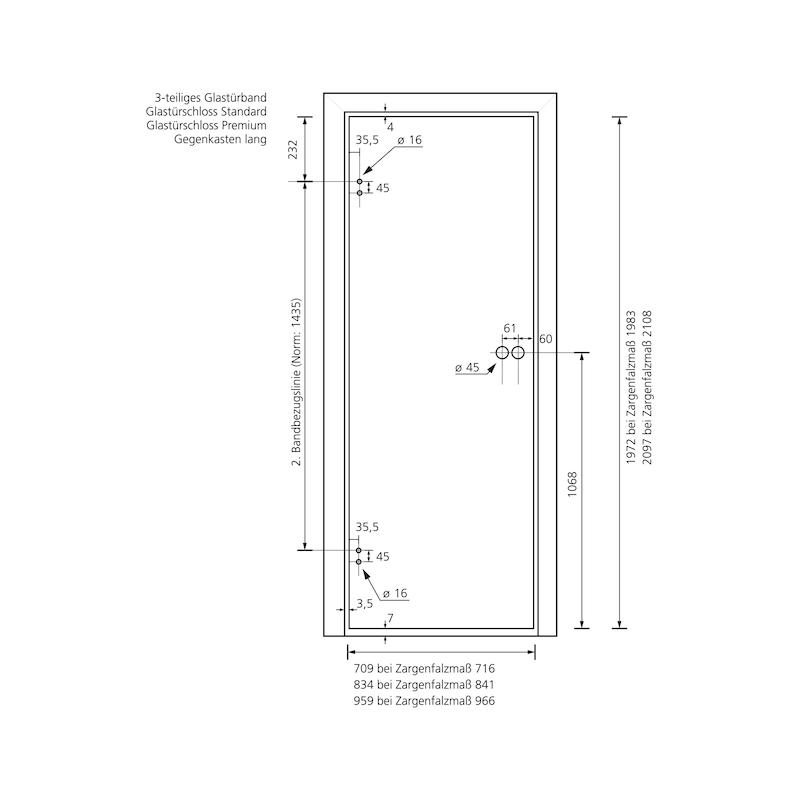Standflügel-Set Form A lang - 14