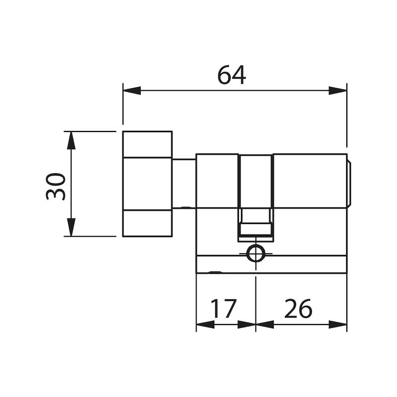 WC Knaufzylinder - 2