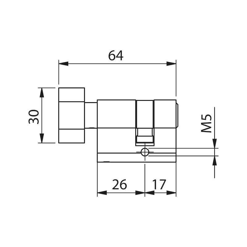 WC Knaufzylinder - 4
