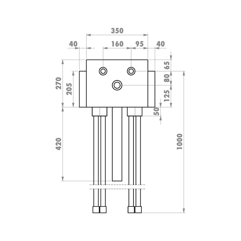 Installationsbox Küchenspüle Trockenbau - 4