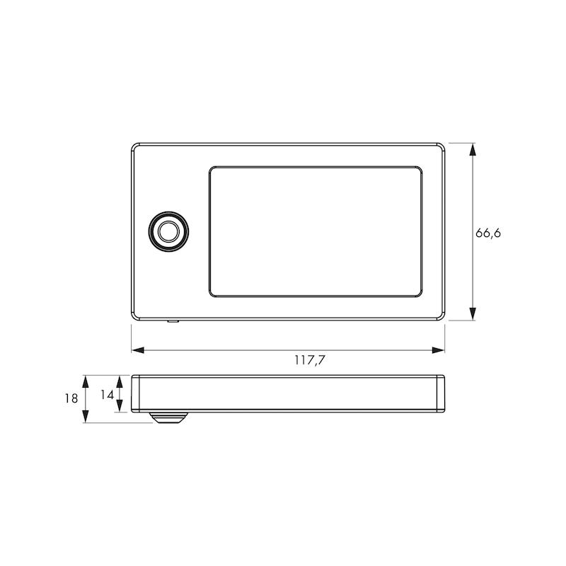 LED-Sensorleuchte SL-12-2 - 2