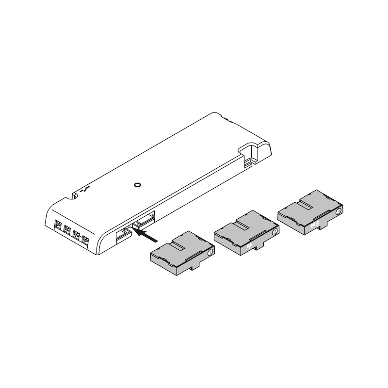 Steuerungs-Modul 1 zu LED-T-12-5 - 2