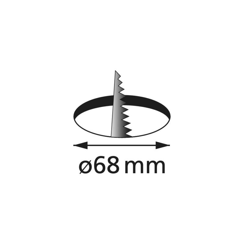 LED-Einbauleuchte EBL-24-13 zum Einlassen - 3