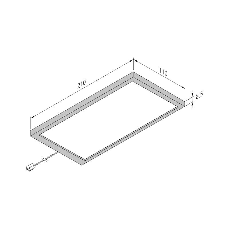 LED-Unterbauleuchte UBL-24-6-D Set - 2