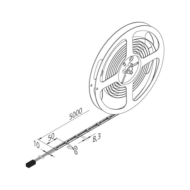 LED-Lichtband FLB-24-3  zum Aufkleben - 2