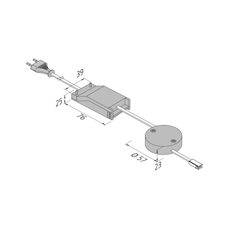 LED Aufbauleuchte Typ E - 4