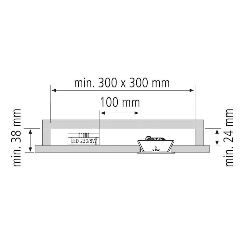 LED Aufbauleuchte Typ E - 6