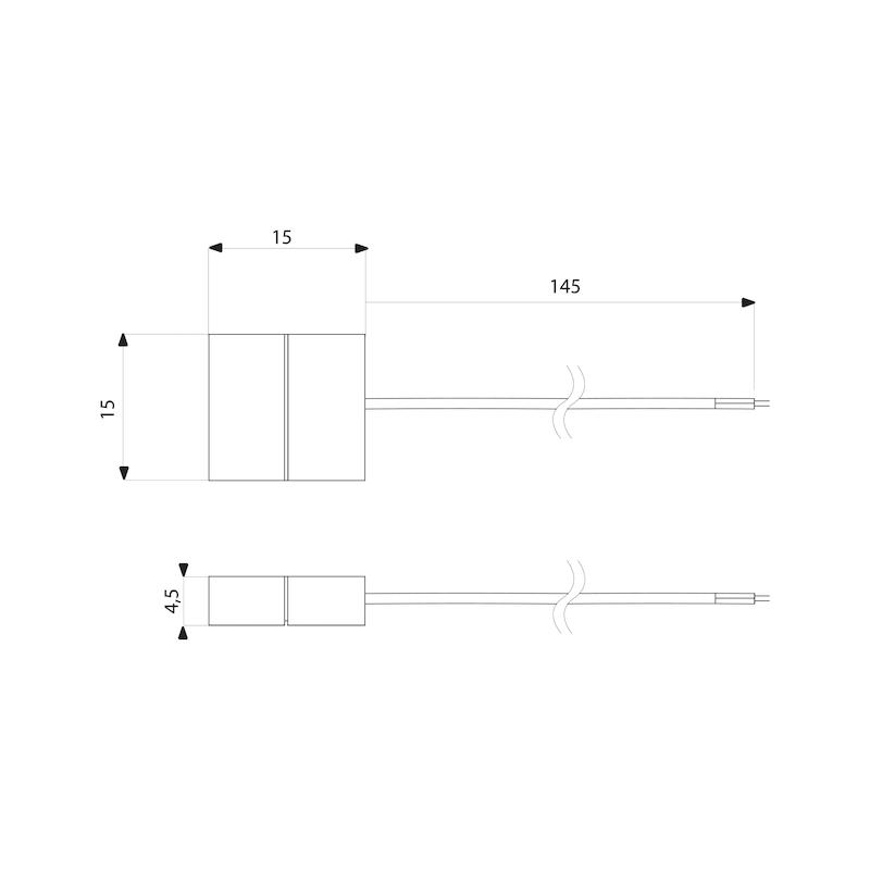 Anschlussleitung-Set zu FLB-24-9 RGB - 2