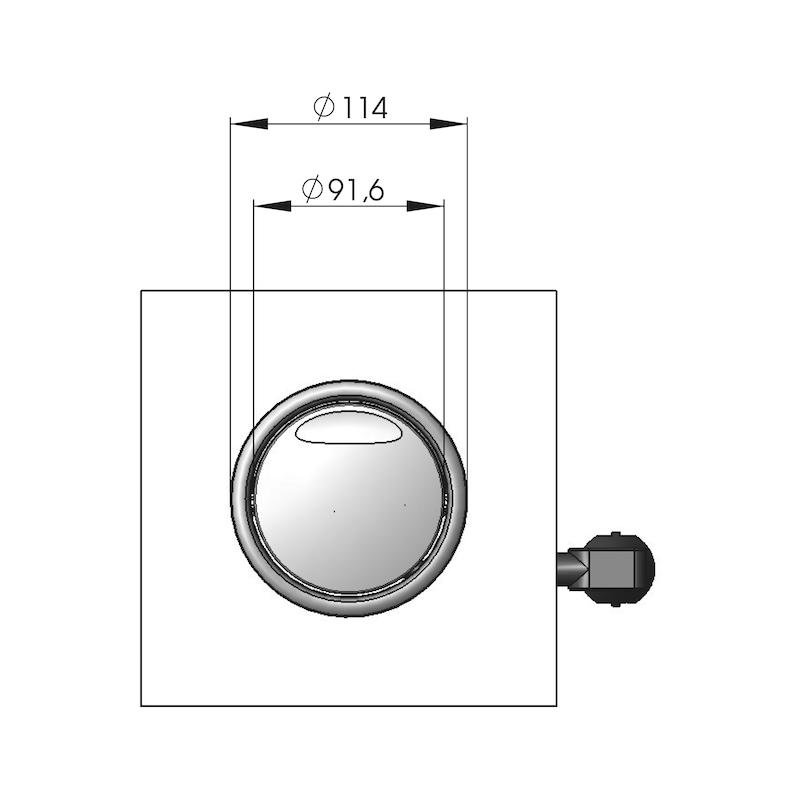 Einbausteckdosenleiste ESTL-1 - 3