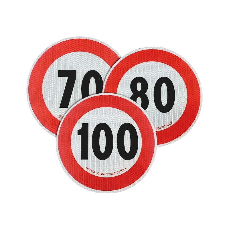Disque de limite de vitesse