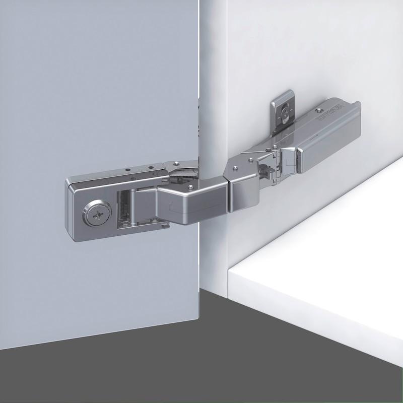Spiegel- und Glastürscharnier TIOMOS Mirro 125 - 16
