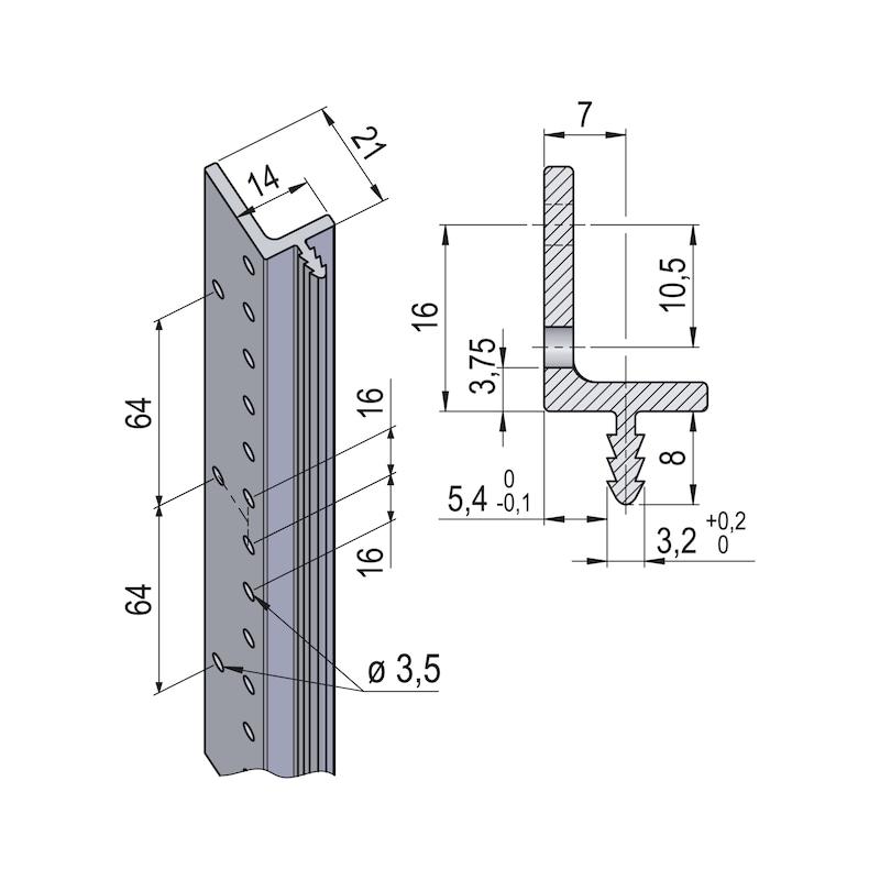 Verbindungsprofil Fixxxit - 2