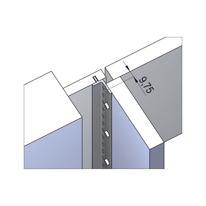 Verbindungsprofil Fixxxit - 5