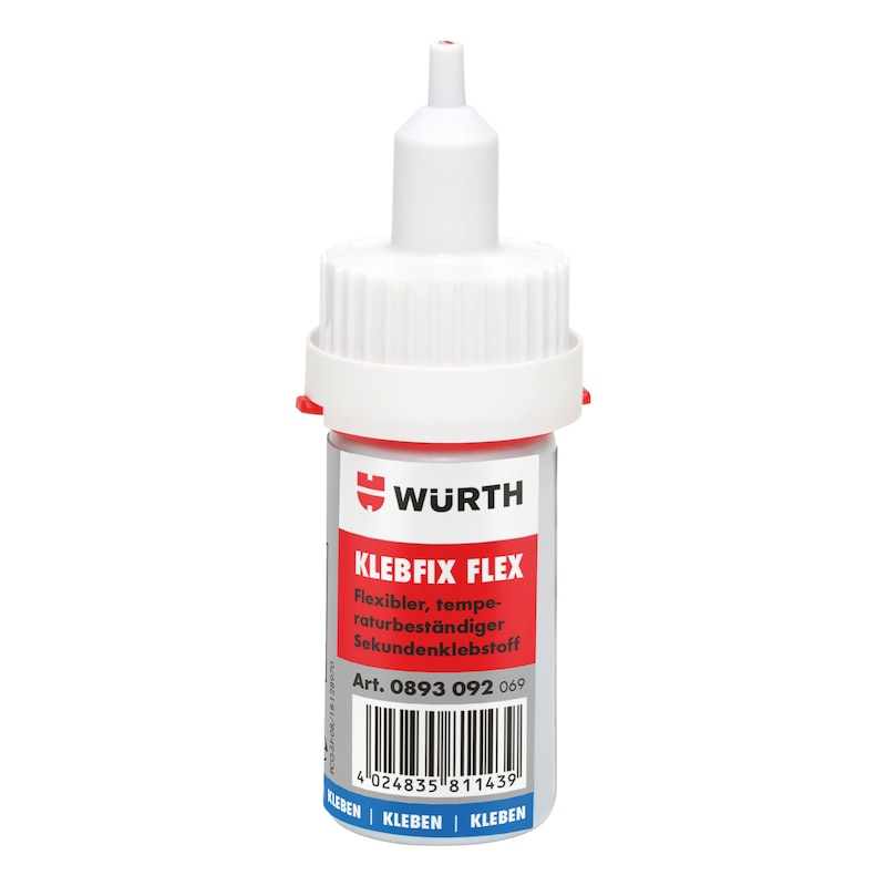 Superglue Klebfix Flex - SUPGLU-KLEBFIX-FLEX-SUPERFAST-20G