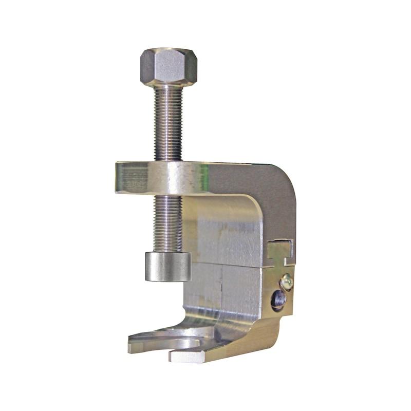 Estrattore per braccio dei tergicristalli con forcella regolabile - 1