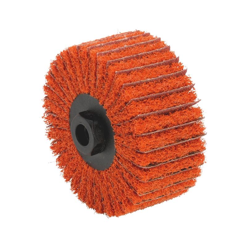 CERALINE abrasive ring, fleece/linen