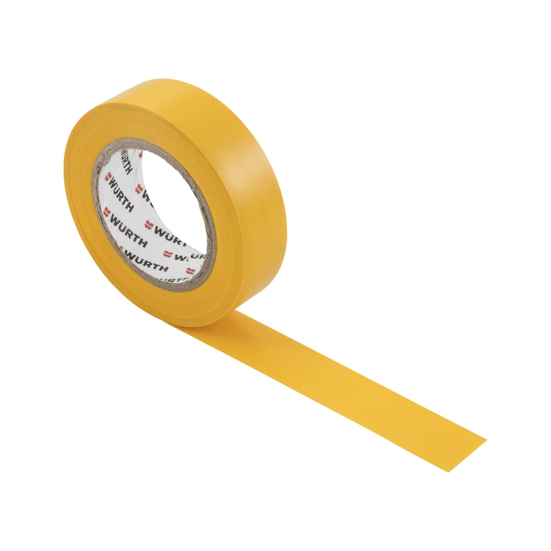 Electrical insulating tape - INSUTPE-EL-YELLOW-15MMX10M