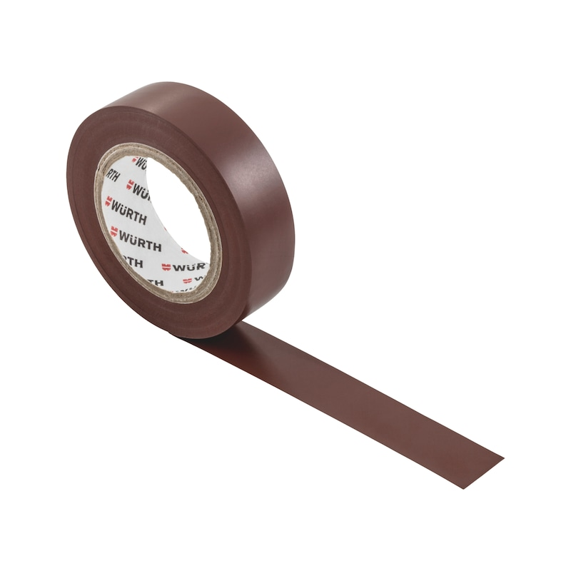 Electrical insulating tape - INSUTPE-EL-BROWN-15MMX10M