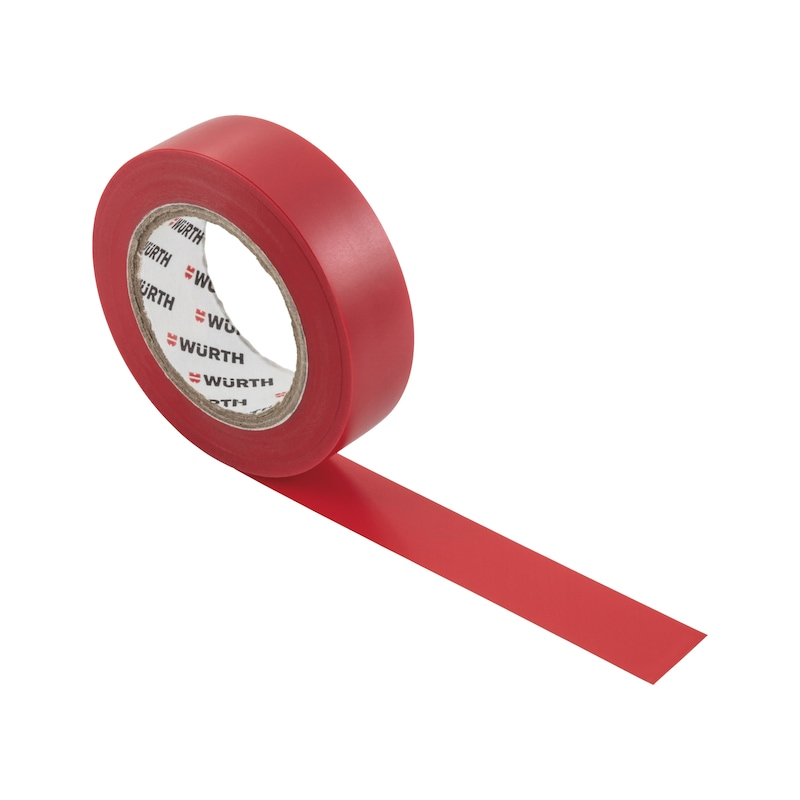Electrical insulating tape - INSUTPE-EL-RED-15MMX10M