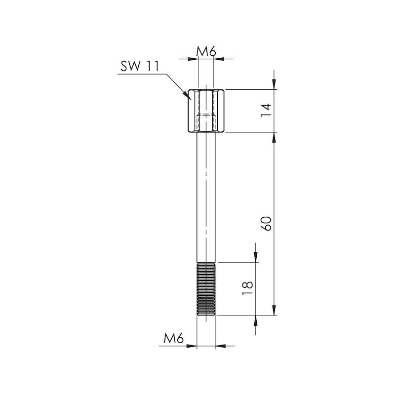 Aufbauschraube Teil 1 - AS - 2