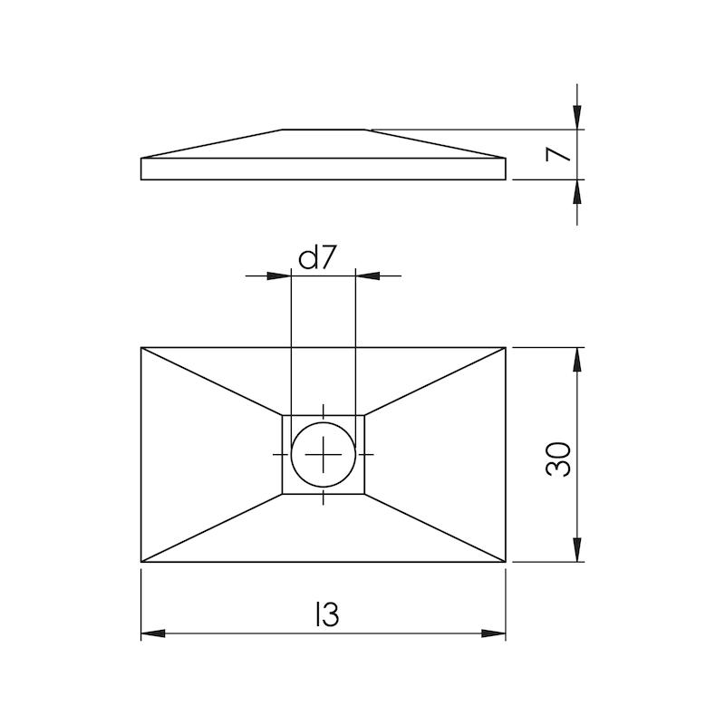 Deckplatte Teil 3 - einfache Ausführung - 2