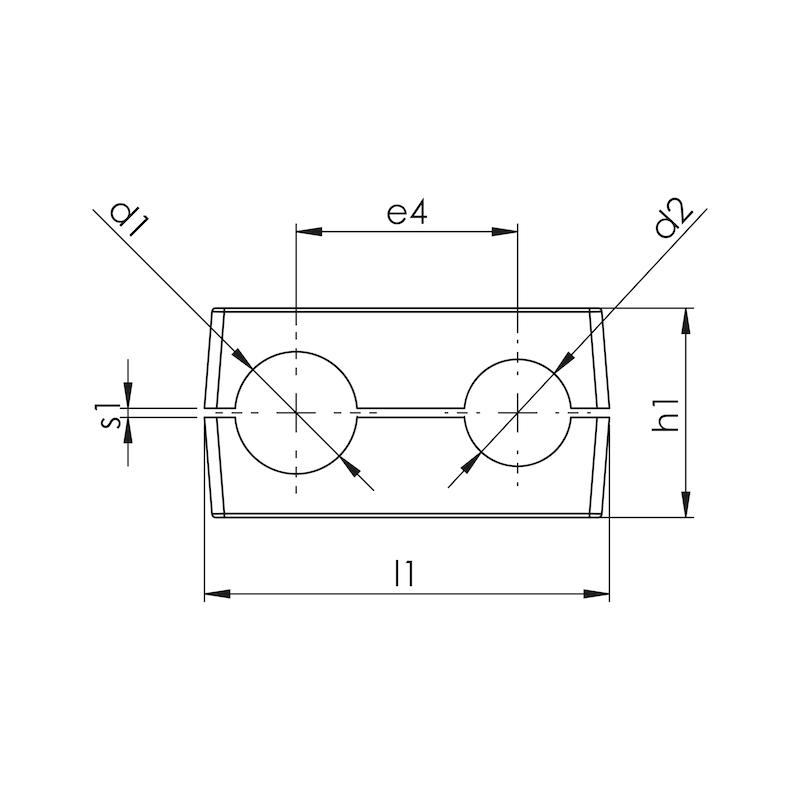Schellenkörper Teil 3 - Doppelte Baureihe  - 2