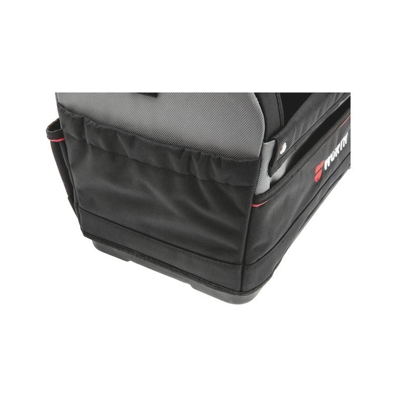 Werkzeugtasche offen mit Kunststoffboden - WZGTASH-KSTBOD-LEER-OFFEN-440X250X360MM