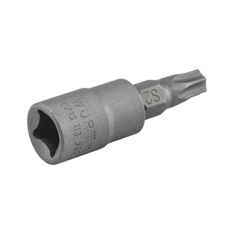 1/4 Zoll Steckschlüsseleinsatz - STESHSL-1/4ZO-TX30-L37MM