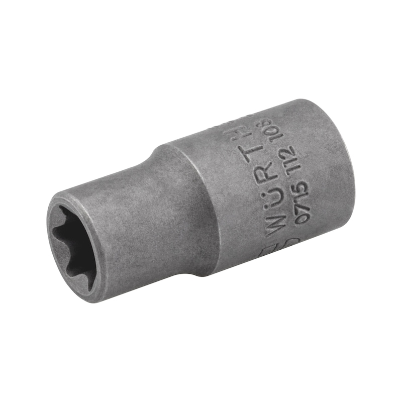 1/4 Zoll Steckschlüsseleinsatz Außen-TX - STESHSL-1/4ZO-AUSSEN-TX-E5-25MM