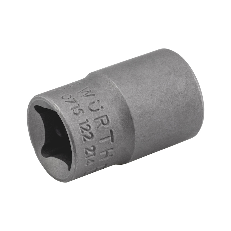 3/8 Zoll Steckschlüsseleinsatz Außen-TX - STESHSL-3/8ZO-AUSSEN-TX-E12-28MM