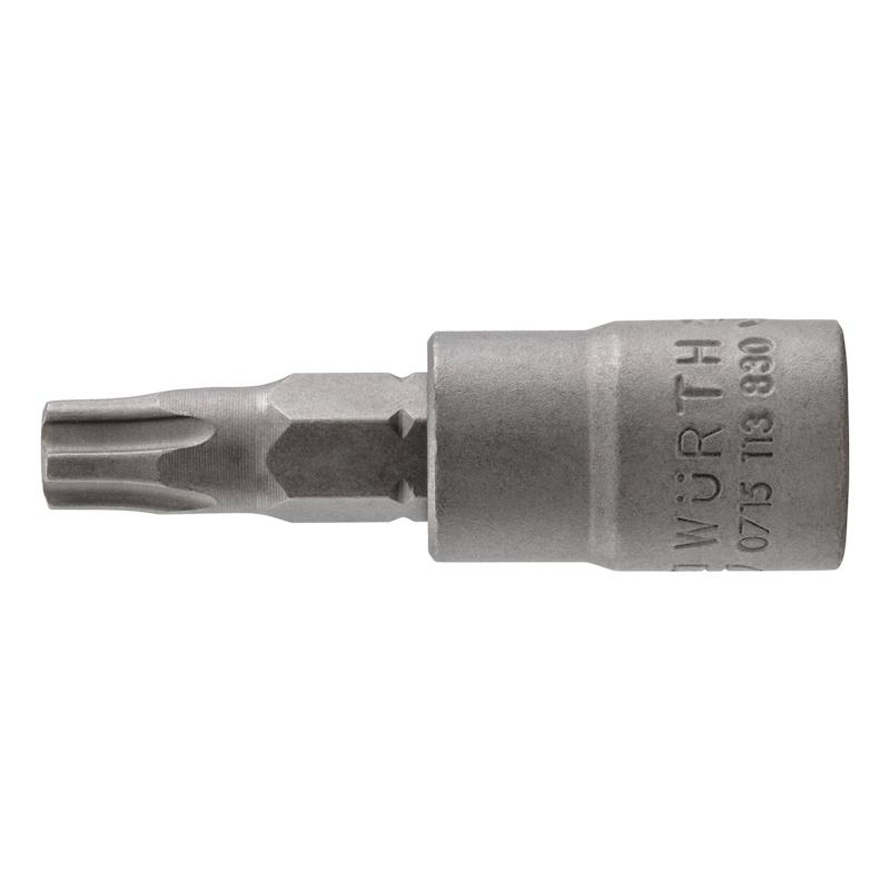 1/4 Zoll Steckschlüsseleinsatz TX IPR - STESHSL-1/4ZO-TX27IPR-37MM
