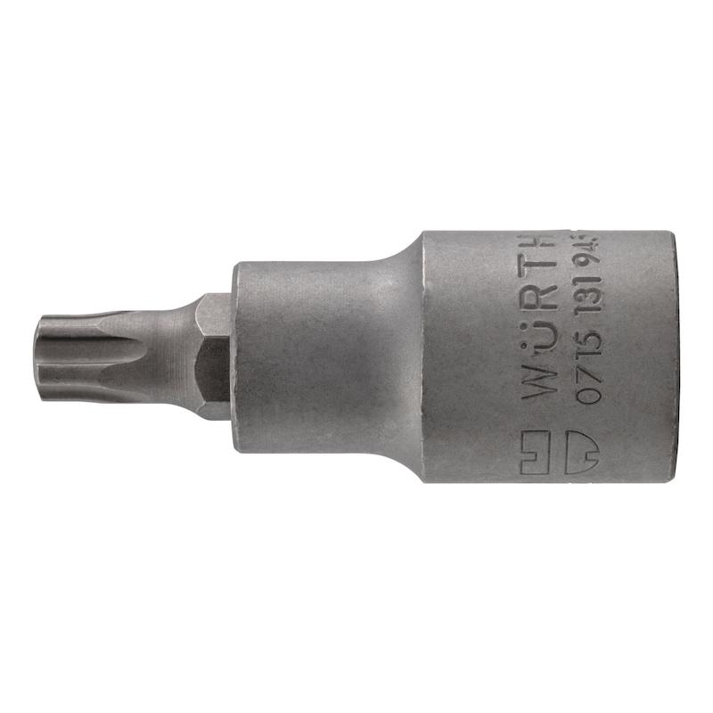 1/2 Zoll Steckschlüsseleinsatz TX IPR - STESHSL-1/2ZO-TX55IPR-55MM
