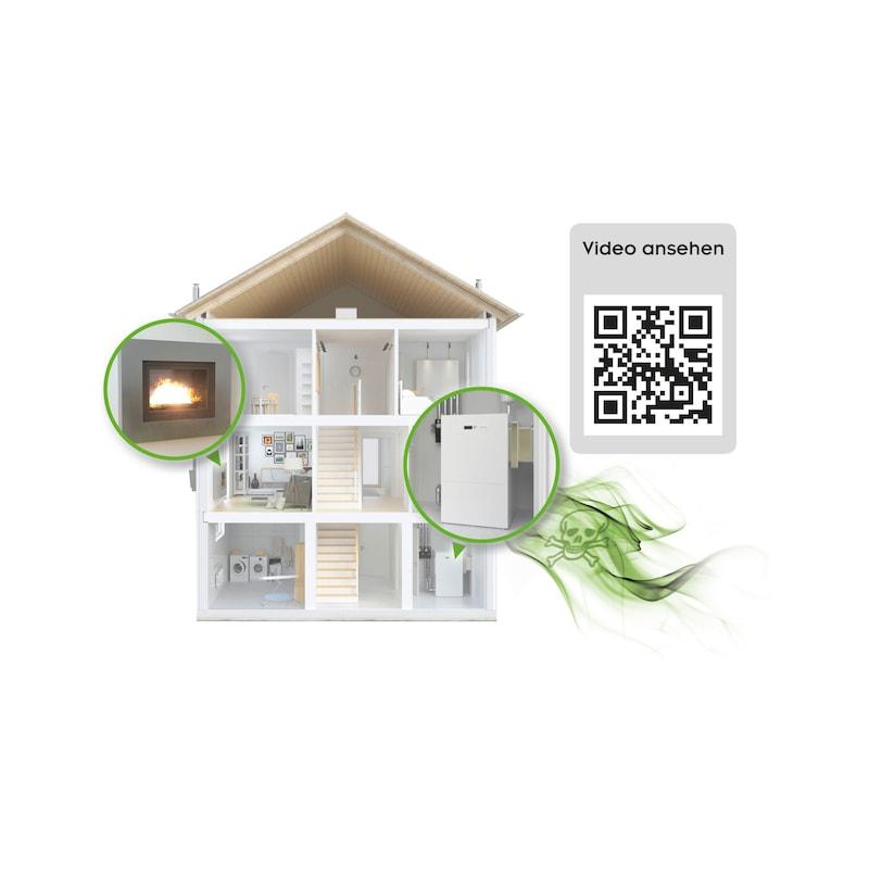 Carbon monoxide detector Ei208iDWC - 2