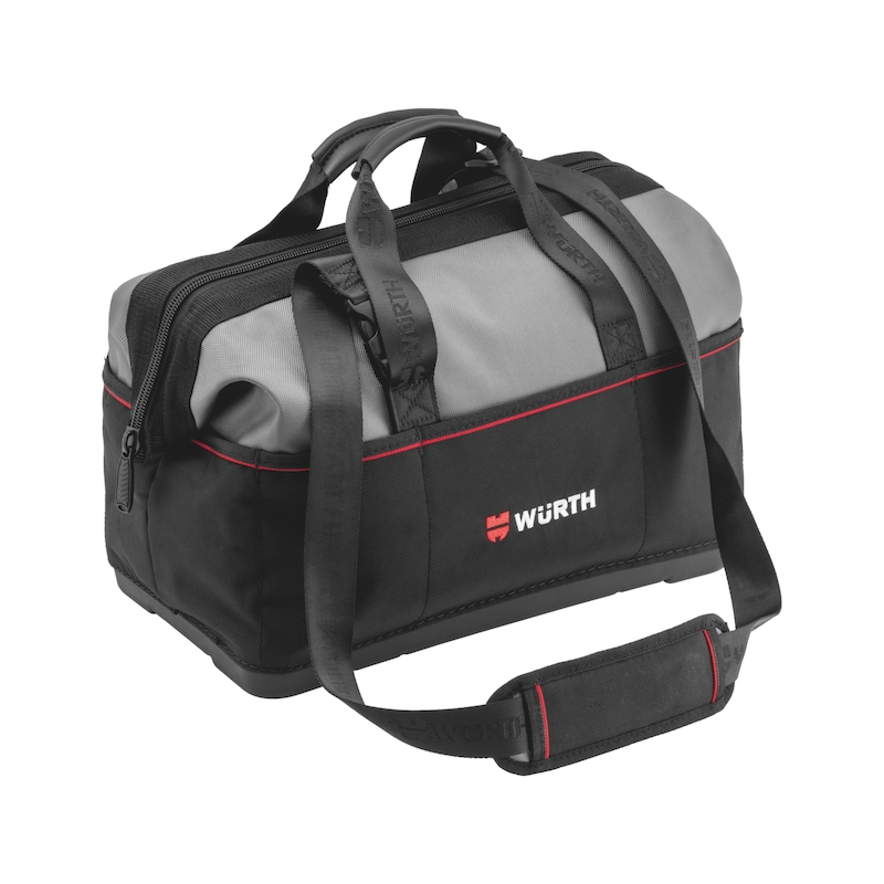 Tool bag with plastic base - 1