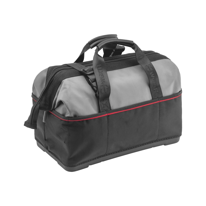 Tool bag with plastic base - 2