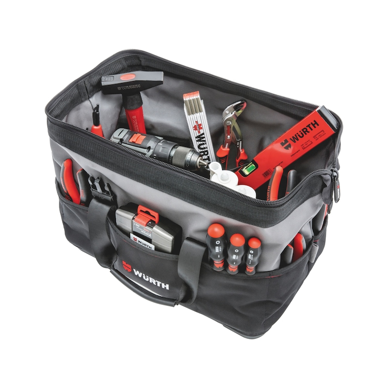Tool bag with plastic base - 6