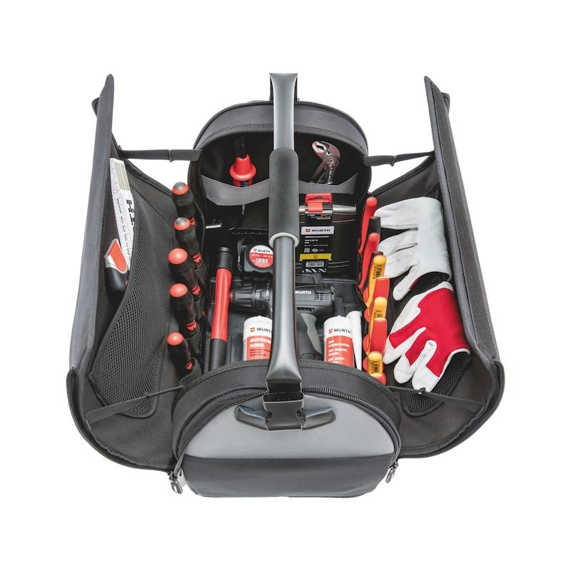 Sac à outils avec côtés repliables - 6