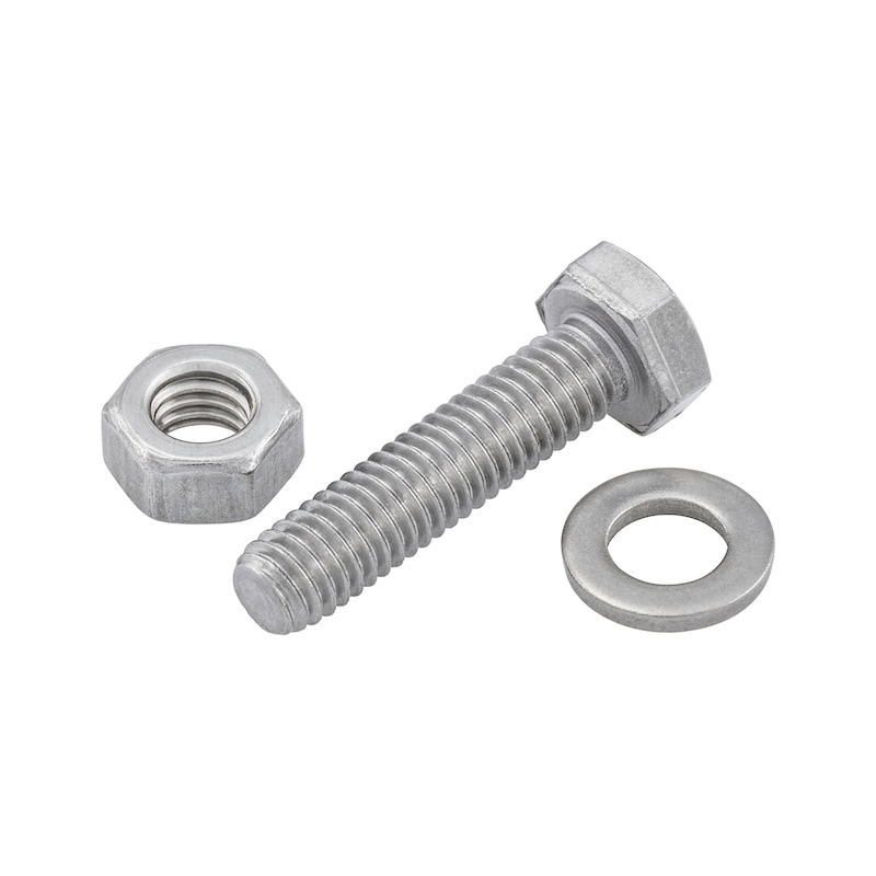 Buy Assortment of hexagonal bolts / hexagon nuts / washers without