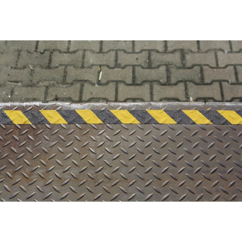 Warnmarkierungsklebeband Antirutsch aluminium-kaschiert - 3