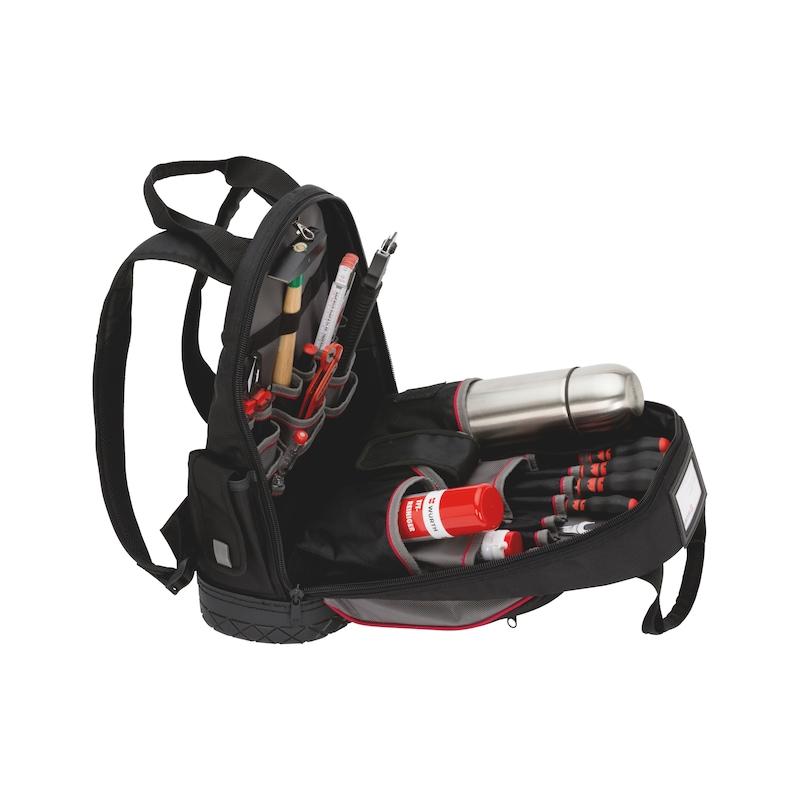 Werkzeug-Rucksack mit wasserdichter Bodenschale - 4