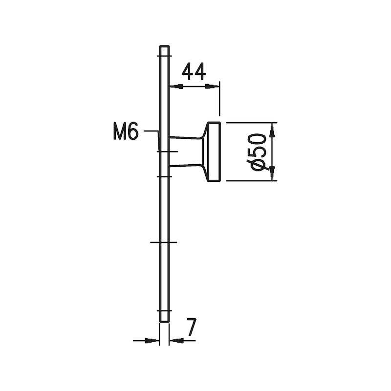 Wechselgarnitur AL 130/AL 12 - TD-ALU-AL130/12-WE-LANGSHLD-PZ-L/R-F9