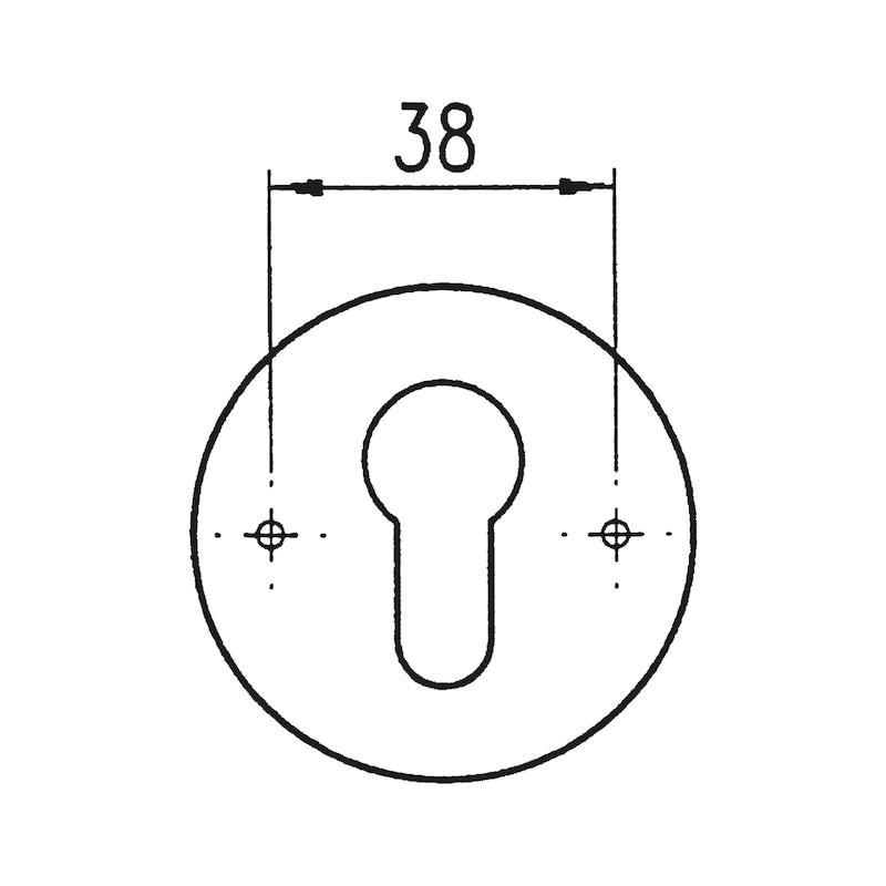 Türdrücker A 502 - 3