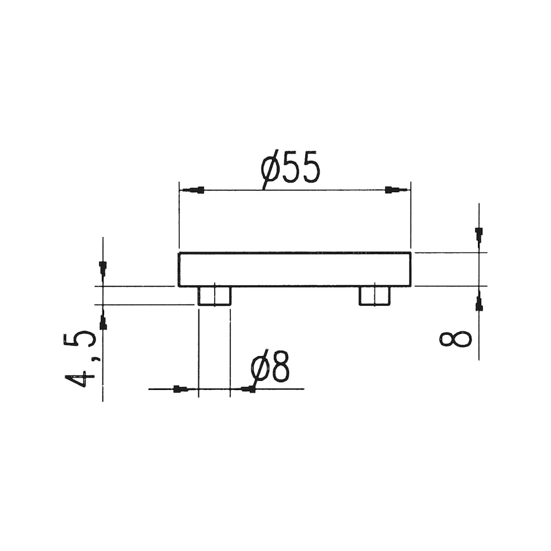Türdrücker  A 505 - 3