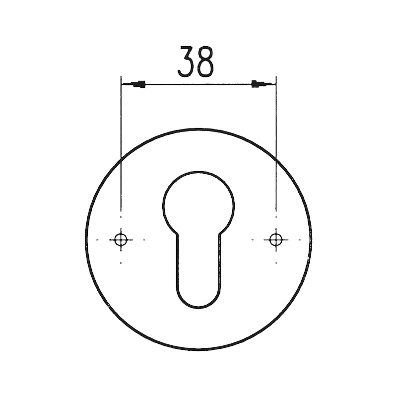 Türdrücker  A507 - 3