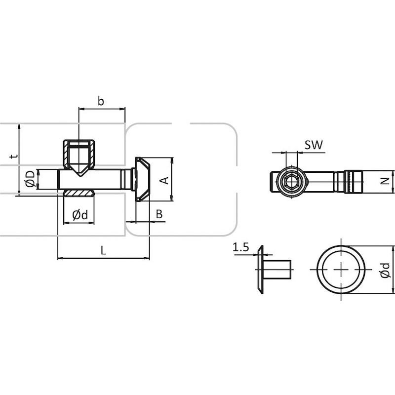 Zentralverbinder - 2