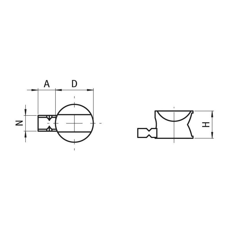 Profil Stoßverbinder Uni Set - 2