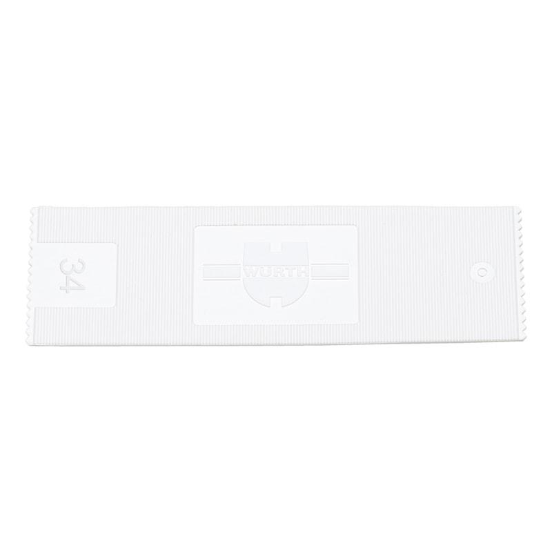 Glazing block - GLZNGPCKR-34X1