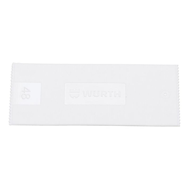 Glazing block - GLZNGPCKR-WO.SLPPROT-48X1