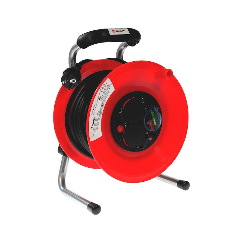Kabelhaspel, kunststof, rubber kabel, H05RR-F